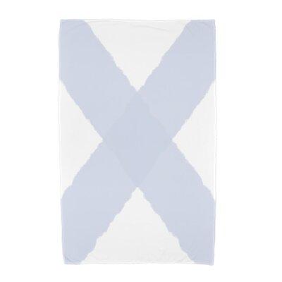 London X Marks Beach Towel Color: Blue
