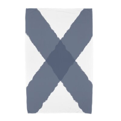 London X Marks Beach Towel Color: Navy Blue