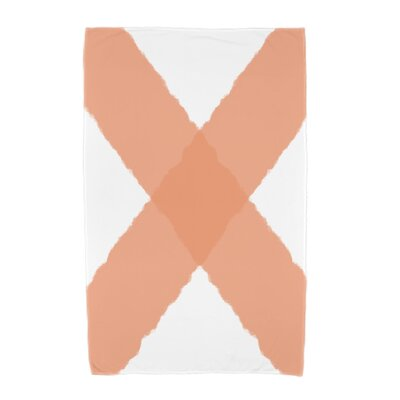 London X Marks Beach Towel Color: Orange