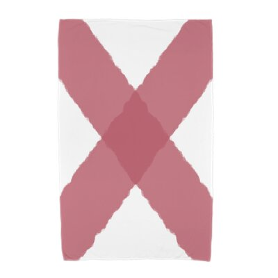 London X Marks Beach Towel Color: Red