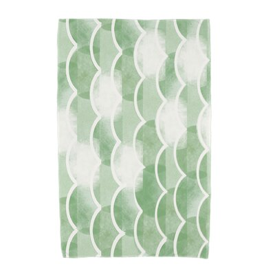 London Beach Towel Color: Green