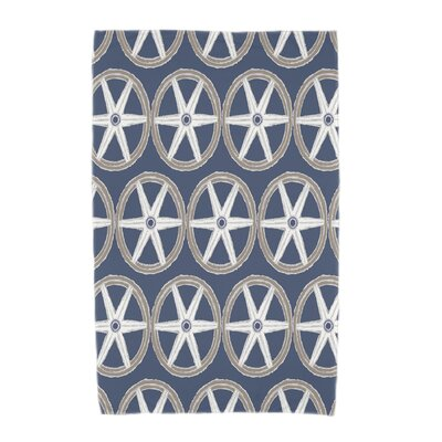 London Beach Towel Color: Navy Blue