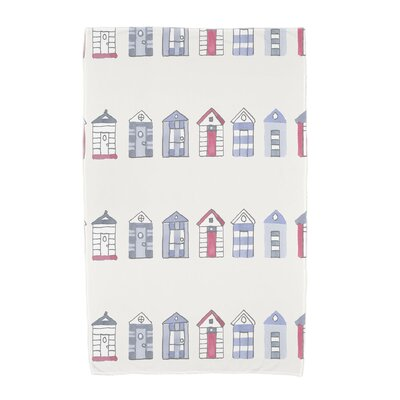 London Beach Towel Color: Ivory