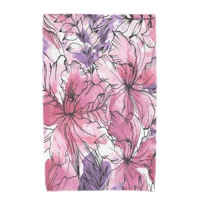 Marlow Beach Towel Color: Purple
