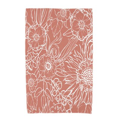 Shavon Beach Towel Color: Red Orange