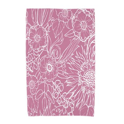 Shavon Beach Towel Color: Pink