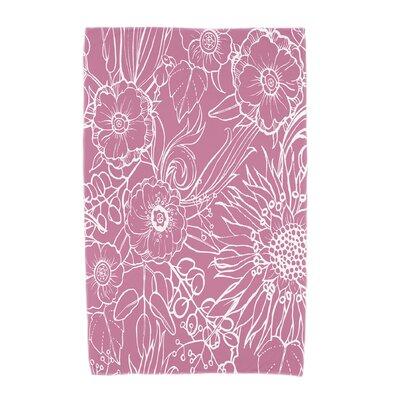Shavon Beach Towel Color: Pink