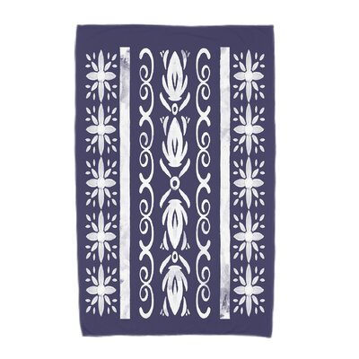 Monteiro Beach Towel Color: Navy Blue