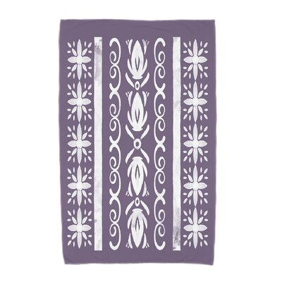 Monteiro Beach Towel Color: Purple