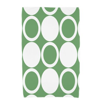 Hassett Beach Towel Color: Green