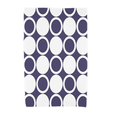 Hassett Beach Towel Color: Navy Blue