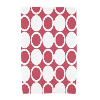 Hassett Beach Towel Color: Red