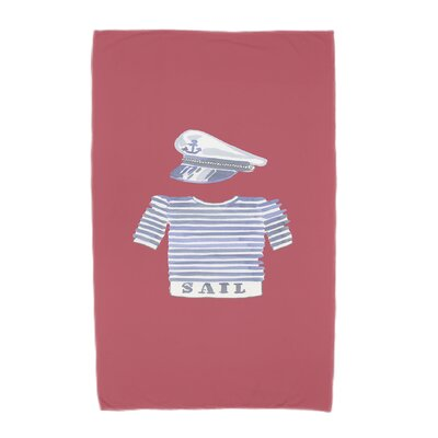 Beach Towel Color: Red