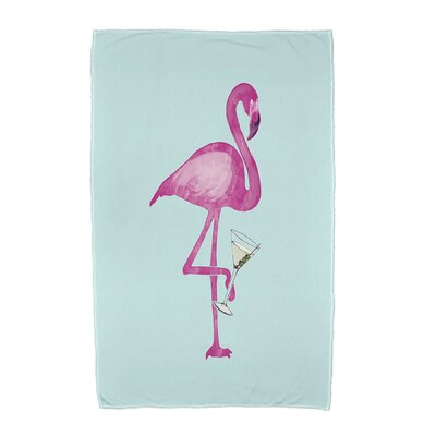 Sailer Beach Towel Color: Aqua