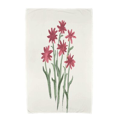 Monroe Beach Towel Color: Rust