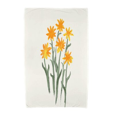 Monroe Beach Towel Color: Yellow