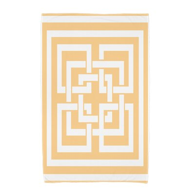 London Beach Towel Color: Yellow