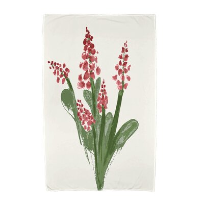Monroe Beach Towel Color: Red