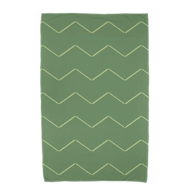 Sailer Beach Towel Color: Green