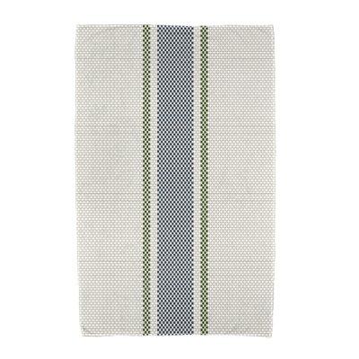 Monroe Grain Sack Beach Towel Color: Navy Blue