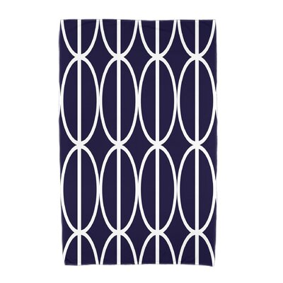 Sailer Beach Towel Color: Navy Blue