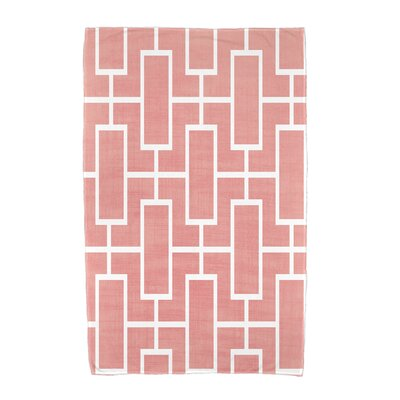 Sailer Beach Towel Color: Coral