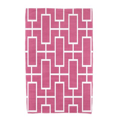 Sailer Towel Color: Pink