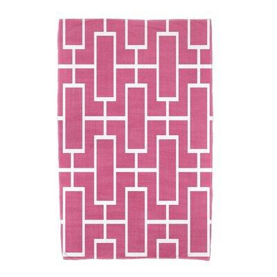 Sailer Towel Color: Pink