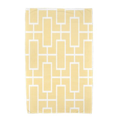 Sailer Beach Towel Color: Yellow