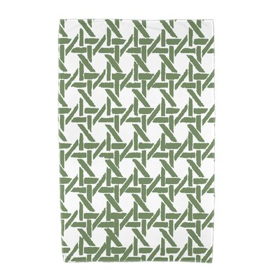 Sailer Towel Color: Green