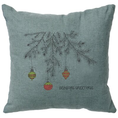 Alessi Bulbs Throw Pillow Color: Ocean