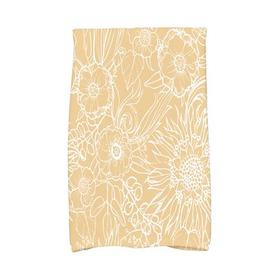 Shavon Hand Towel Color: Gold