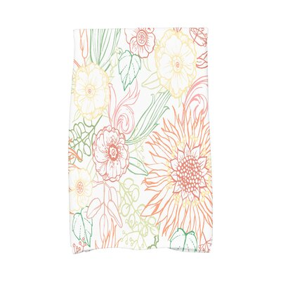 Shavon Hand Towel Color: Orange