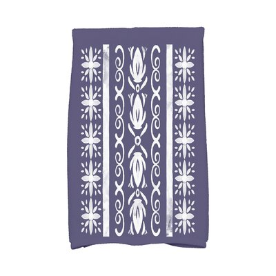 Monteiro Hand Towel Color: Navy Blue