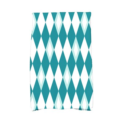 Sailer Hand Towel Color: Blue