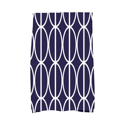 Sailer Hand Towel Color: Navy Blue
