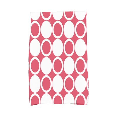 Hassett Hand Towel Color: Red