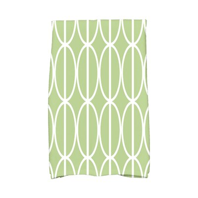 Sailer Hand Towel Color: Green