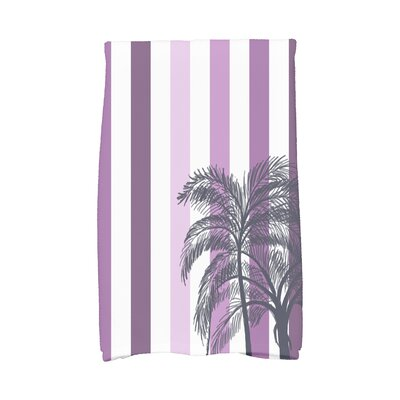 Marlow Hand Towel Color: Purple