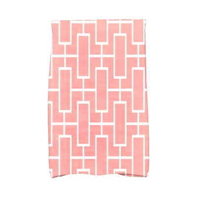 Sailer Hand Towel Color: Coral