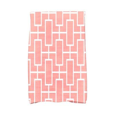 Sailer Hand Towel Color: Coral