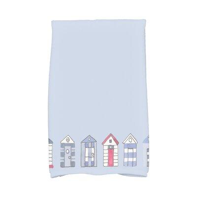 London Hand Towel Color: Light Blue