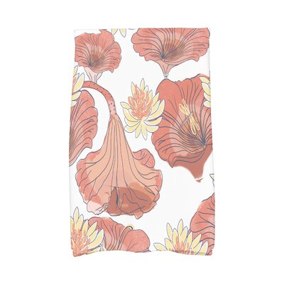 Monteiro Hand Towel Color: Red Orange