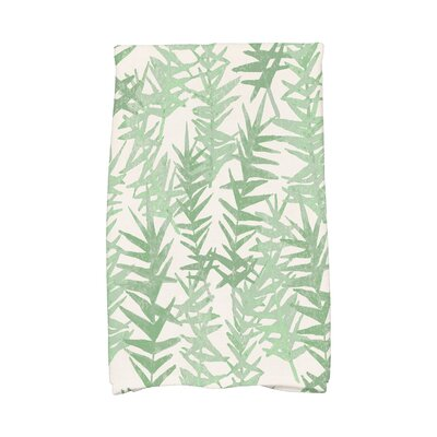 Monteiro Hand Towel Color: Green