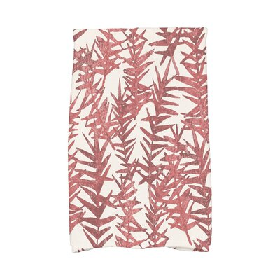 Monteiro Hand Towel Color: Red