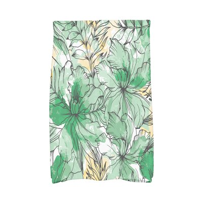 Marlow Hand Towel Color: Green