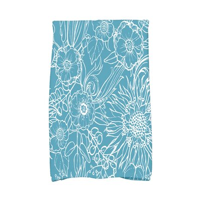 Shavon Hand Towel Color: Teal