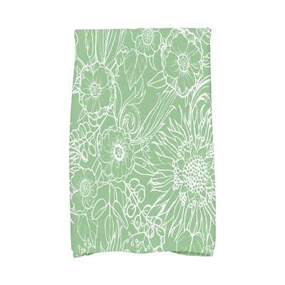 Shavon Hand Towel Color: Green