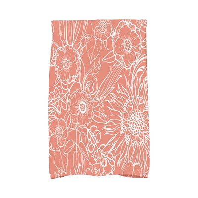 Shavon Hand Towel Color: Red