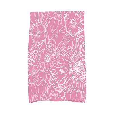 Shavon Hand Towel Color: Pink